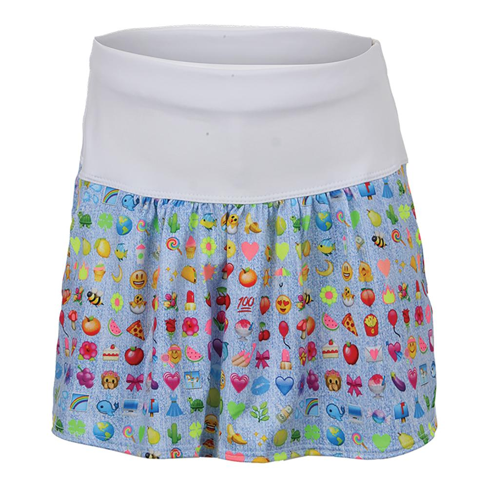 Girls ` Tennis Skort Denim Joy