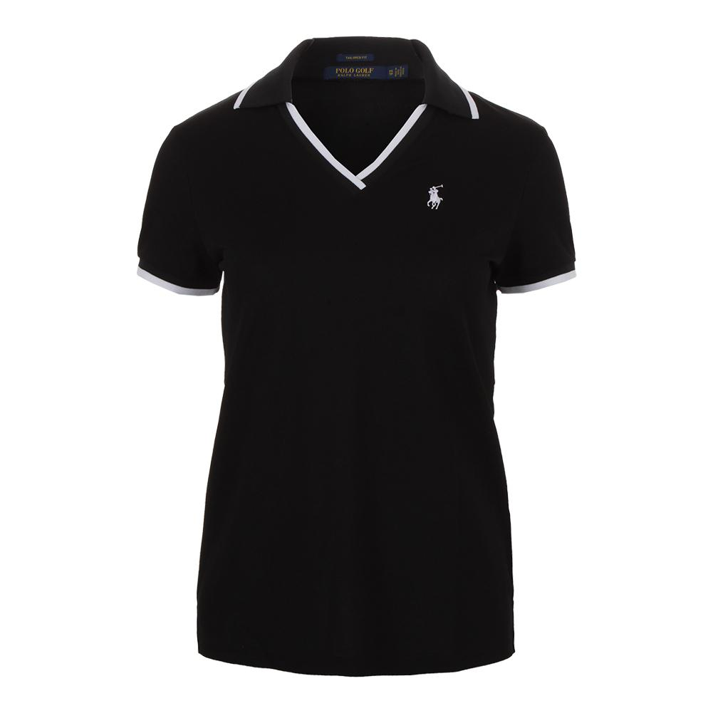 d4629e96e78d Polo Ralph Lauren Women's V-Neck Tennis Polo in Black