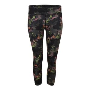 Women`s No Fear Tennis Capri Water Camo