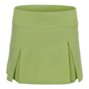 Women`s Topspin Tennis Skort Pear Green