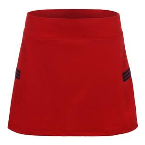 Women`s Heritage 14.5 Inch Tennis Skort Chinese Red