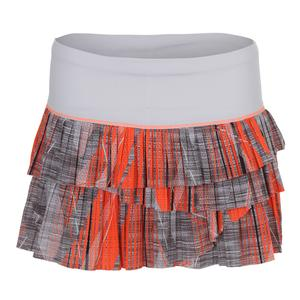 Women`s Limitless Pleated Scallop Tennis Skort Charcoal