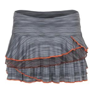 Women`s Zion Rally Tennis Skort Charcoal