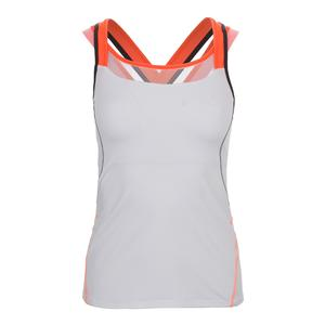 Women`s Cover-Up Tennis Tank White