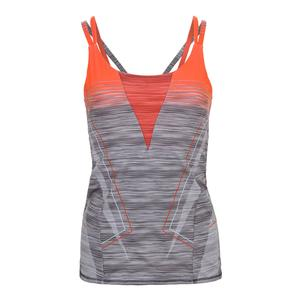 Women`s Spaced Out Tennis Cami Charcoal