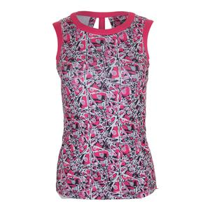 Women`s Chianti Graphic Tennis Tank