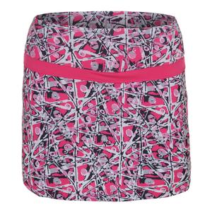 Women`s Chianti Graphic Tennis Skort