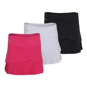 Women`s Chianti Pleated Tennis Skort