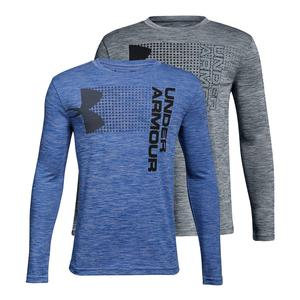 Boys` Crossfade Long Sleeve Top