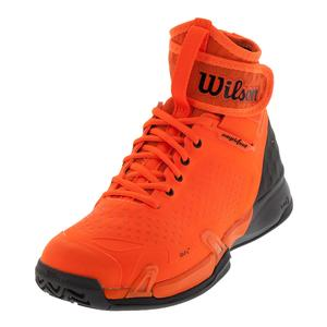 Unisex Amplifeel Tennis Shoes Shock Orange and Magnet