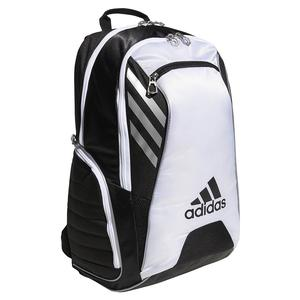 Tour Tennis Racquet Backpack Black and White