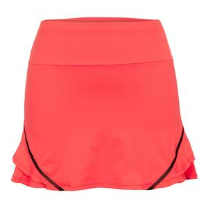 Women`s Dixon 14.5 Inch Tennis Skort Flamenco