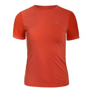 Women`s Tracer Short Sleeve Tennis Top Orange