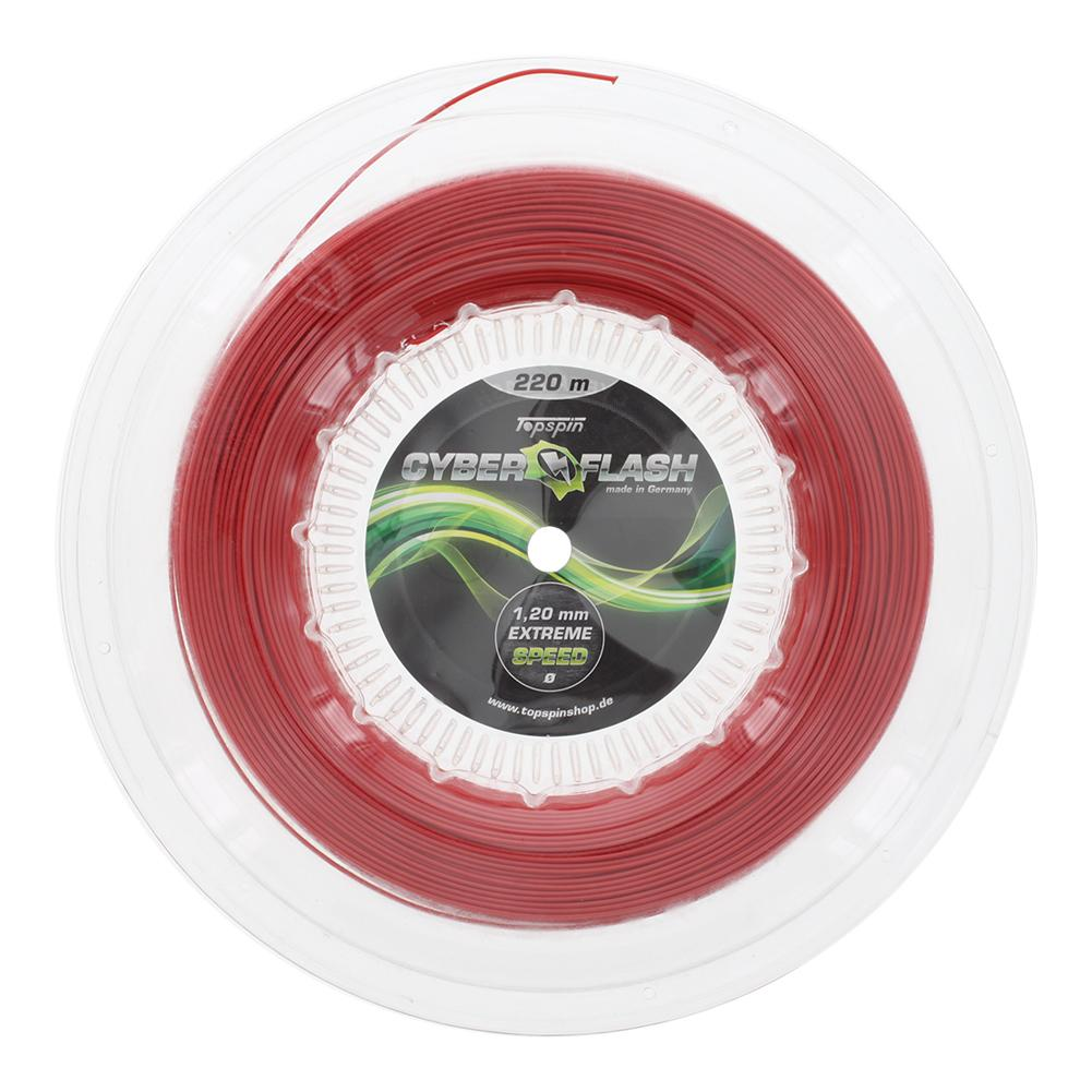 Cyber Flash 18g 1.20 Tennis String Reel Red