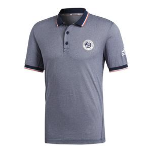 Men`s Roland Garros Tennis Polo Noble Indigo