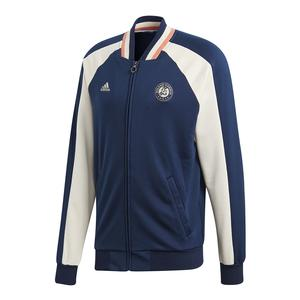 Men`s Roland Garros Tennis Jacket Collegiate Navy and Ecru Tint