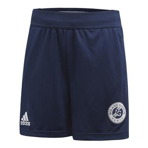 Boys` Roland Garros Tennis Short Collegiate Navy