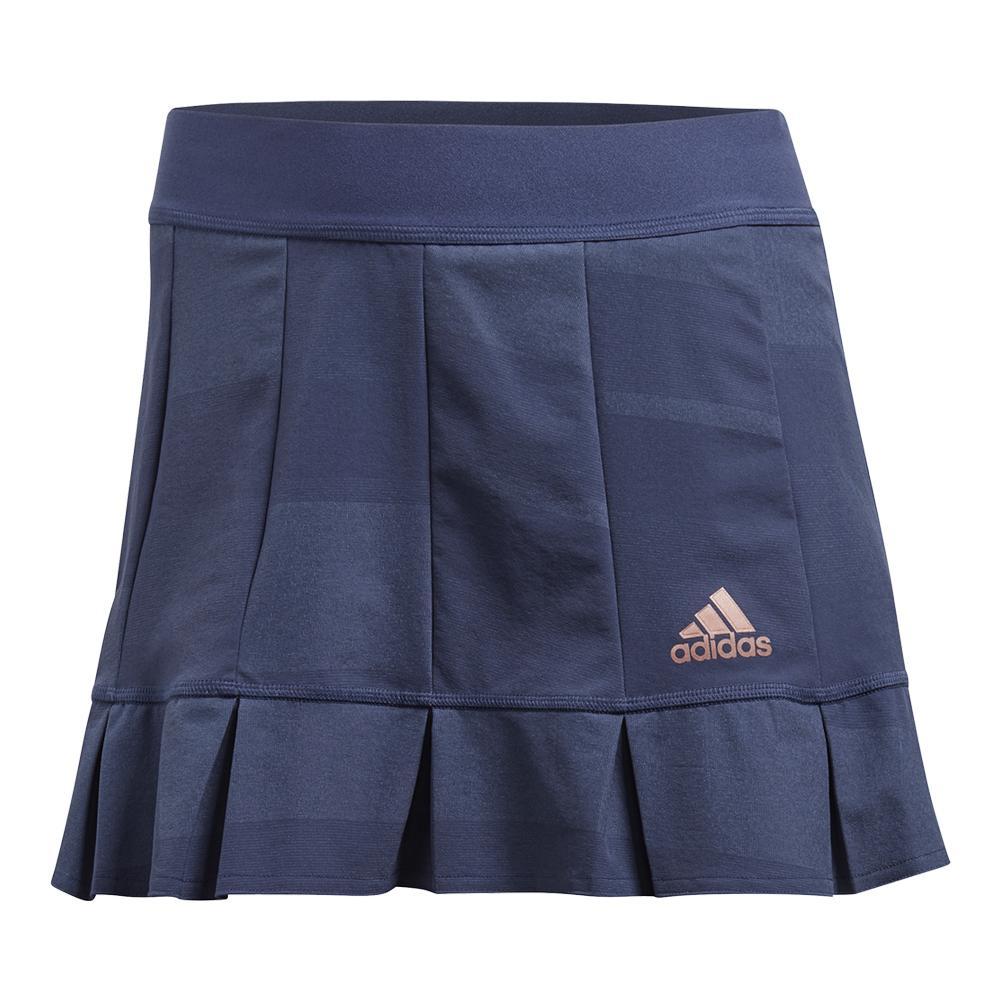 adidas Women's Roland Garros Tennis Skort in Noble Indigo