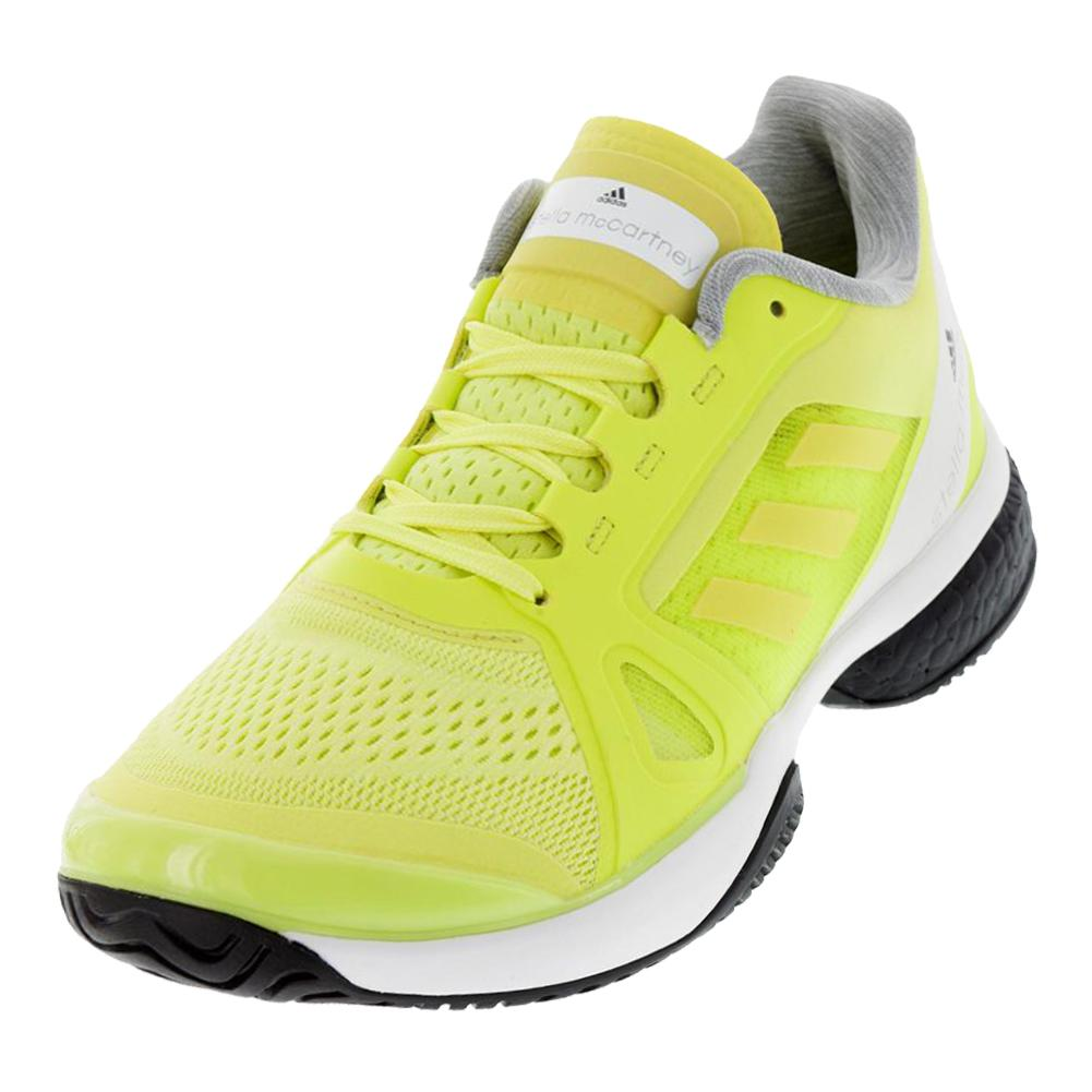 Women's Stella Mccartney Barricade Boost Tennis Shoes Aero Lime And White