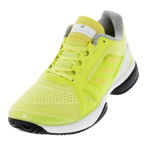 Women`s Stella McCartney Barricade Boost Tennis Shoes Aero Lime and White