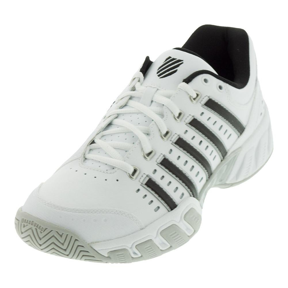 Men's Bigshot Light Ltr Tennis Shoes White And Black