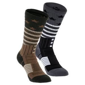 Unrivaled Stars and Stripes Crew Socks Large