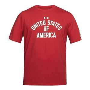 Men`s USA Verbiage Short Sleeve Tee