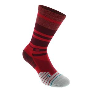 Men`s Meara Crew Socks Red