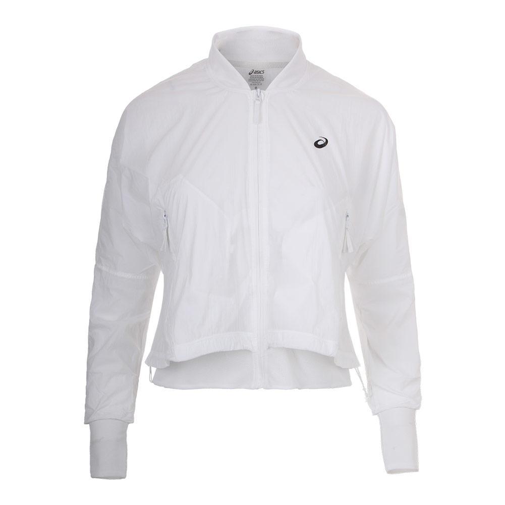 Women's Tennis Jacket Brilliant White