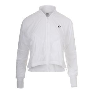 Women`s Tennis Jacket Brilliant White