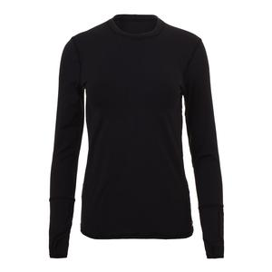 Women`s Champion Long Sleeve Tennis Top Black