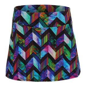 Women`s Zodiac Tennis Skirt Print