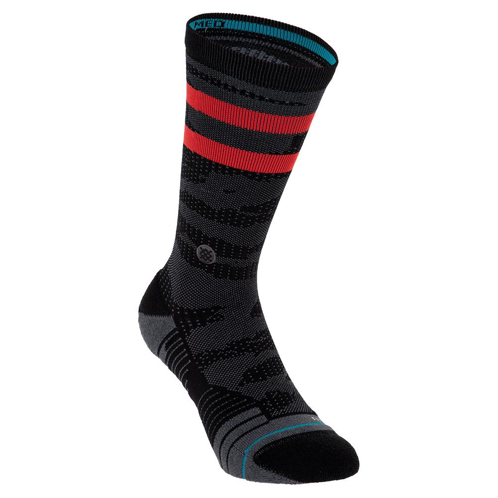 Men's Training Uncommon Solids Crew Socks Black