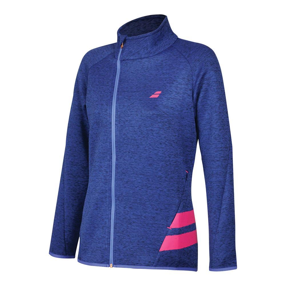 Women's Performance Tennis Jacket Estate Blue Heather