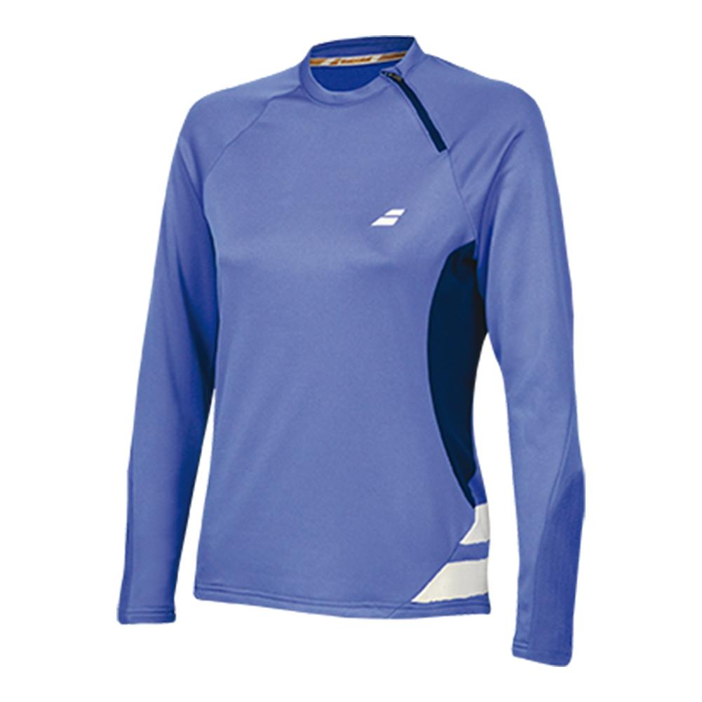 Women's Performance 1/2 Zip Tennis Sweatshirt Wedgewood