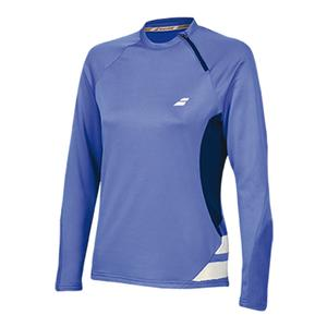 Women`s Performance 1/2 Zip Tennis Sweatshirt Wedgewood