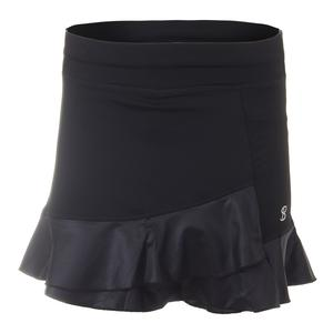 Women`s Court 14 Inch Tennis Skort Black