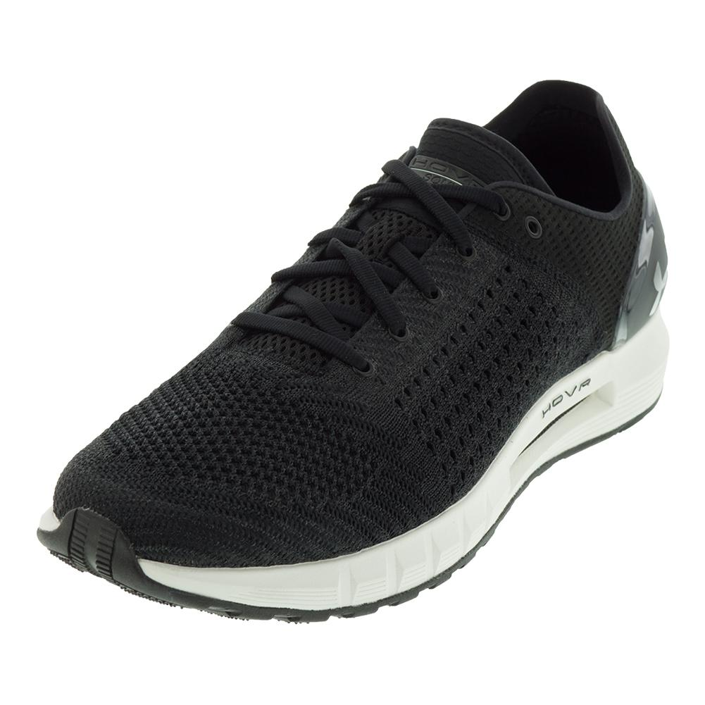 Men's Hovr Sonic Running Shoes Black And Ivory