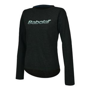 Girls` Core Tennis Sweatshirt Phantom Heather
