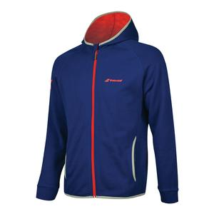 Boys` Core Hood Tennis Sweat Estate Blue