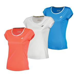 Girls` Core Flag Club Tennis Tee