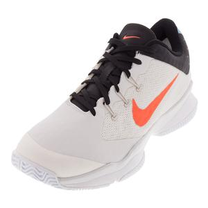 Men`s Air Zoom Ultra Tennis Shoes Phantom and White