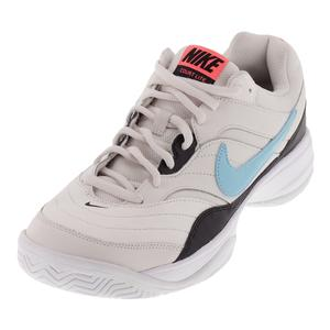 Men`s Court Lite Tennis Shoes Phantom and Black