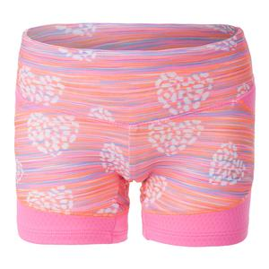 Girls` Compression Short Wild at Heart