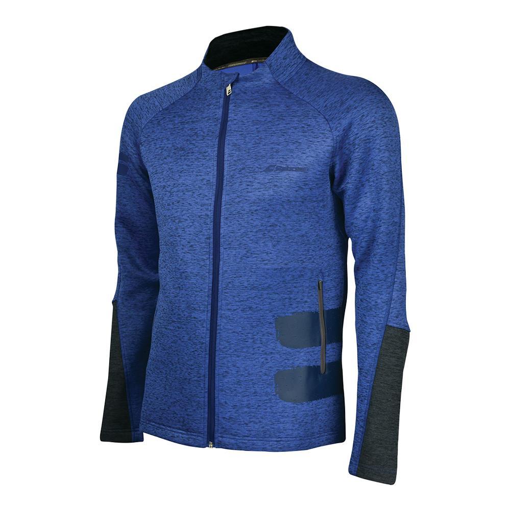 Men's Performance Tennis Jacket Estate Blue Heather
