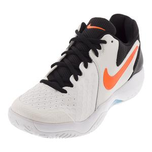 Men`s Air Zoom Resistance Tennis Shoes Phantom and Black