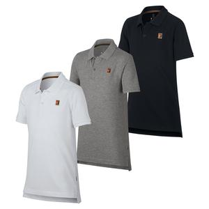 Boys` Court Heritage Tennis Polo