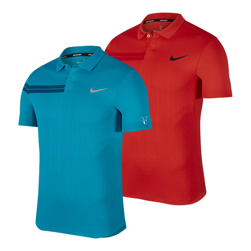 Men's Court Zonal Cooling Roger Federer Advantage Tennis Polo