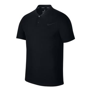Men`s Court Advantage Tennis Polo Black
