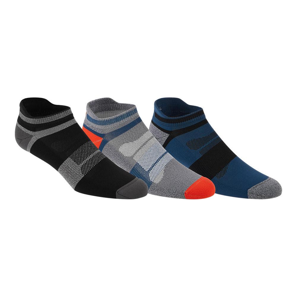 Quick Lyte Cushion Single Tab Socks 3 Pack Dark Blue Assorted
